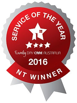 2016 service award - NT winner